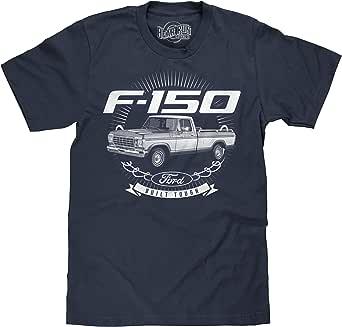 BEAR RUN Clothing Co. Men's Ford Built Tough T-Shirt - 1979 Ford F-150 Truck Shirt