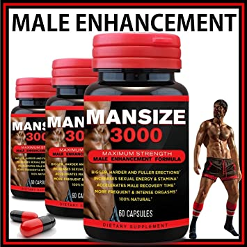 Amazon Com Mansize 3000 Male Enlarger Xl Sexual Performance