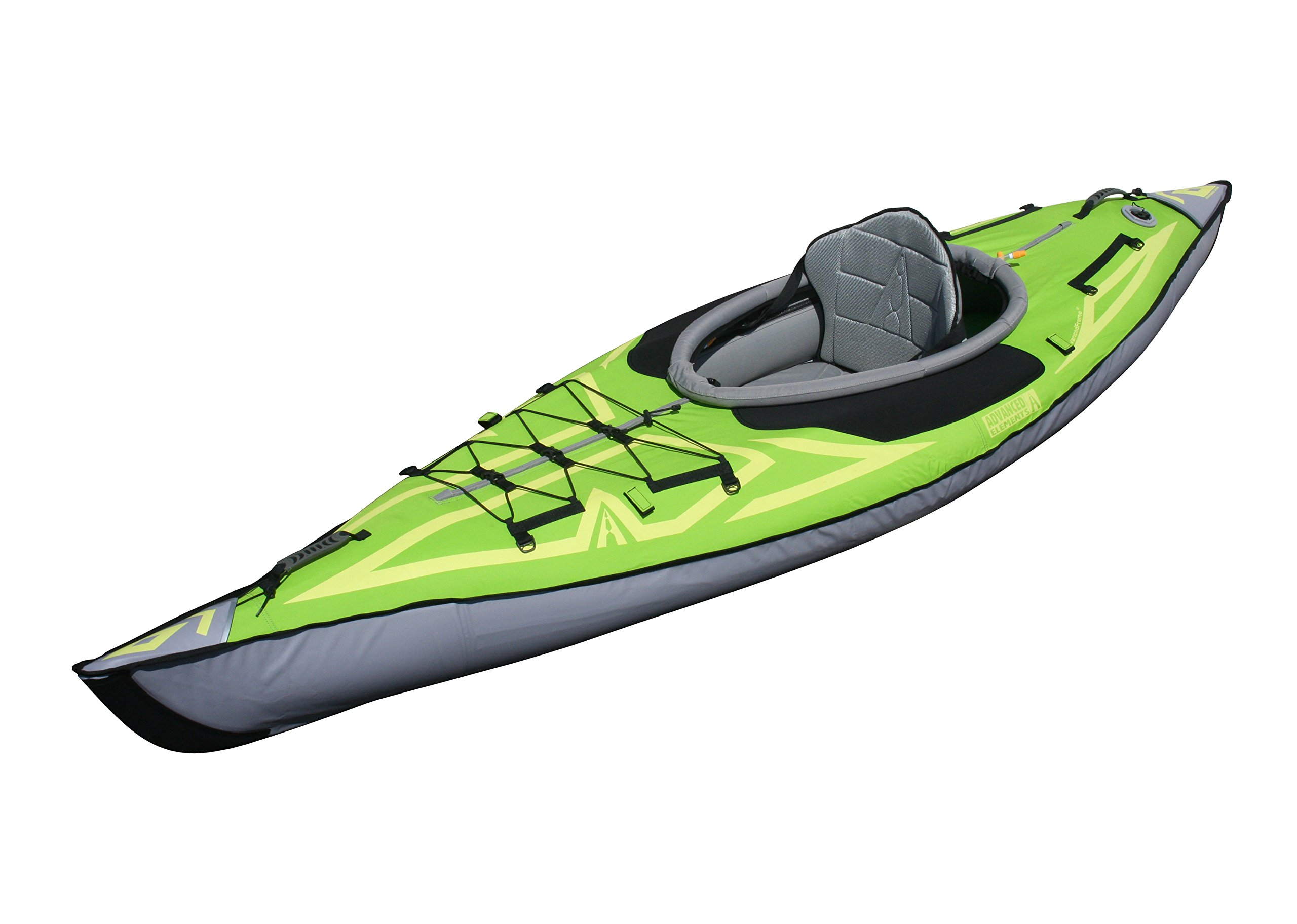 Advanced Elements AE1012-G Frame Inflatable Kayak, Green by ADVANCED ELEMENTS