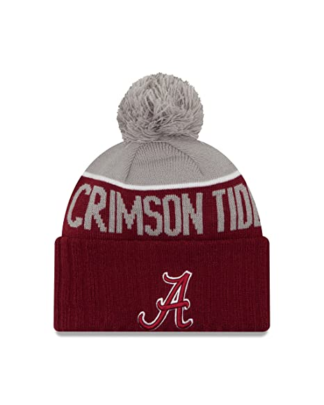 Amazon.com   NCAA Alabama Crimson Tide Ne 15 Sport Cuff Knit Beanie ... 2001d2aa2ac1