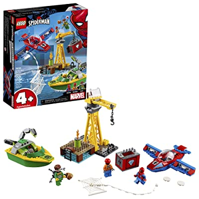 LEGO Marvel Spider Man Spider-Man: Doc Ock Diamond Heist 76134 Building Kit (150 Pieces): Toys & Games