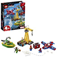 LEGO Marvel Spider-Mans Spider Doc Ock Building Kit 150 Piece