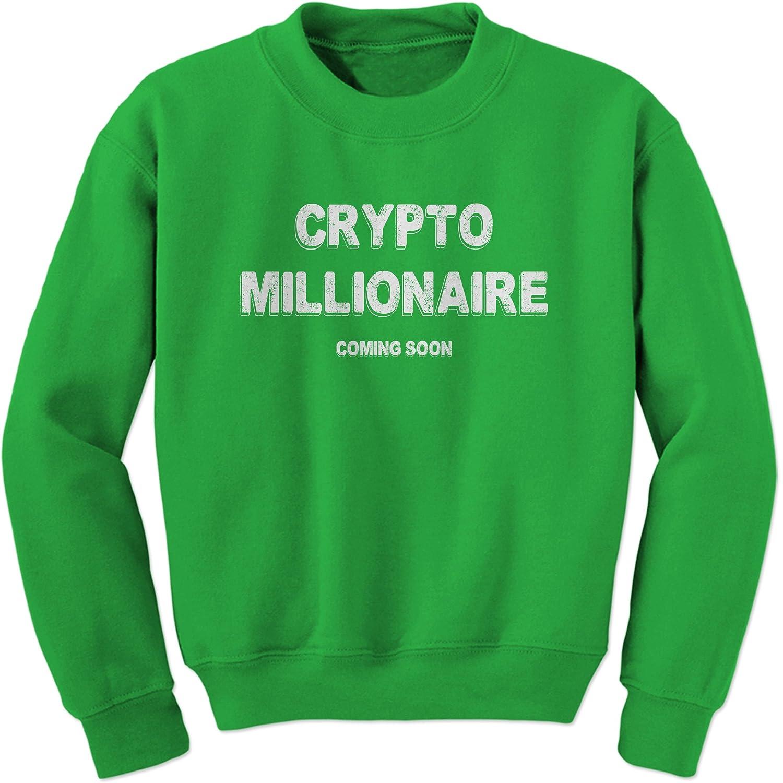 Expression Tees Crypto Millionaire Coming Soon Crewneck Sweatshirt 2149-C