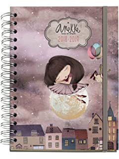 Anekke 273004 - Agenda escolar 18/19: Amazon.es: Oficina y ...