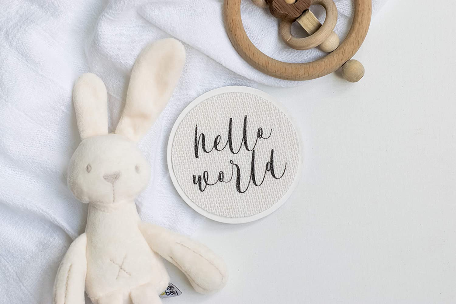 We Are Having A Baby Baby Photo Prop Newborn Photography Hospital Announcement Milestone Card Disc Baby Wood Burlap Plaque Sign