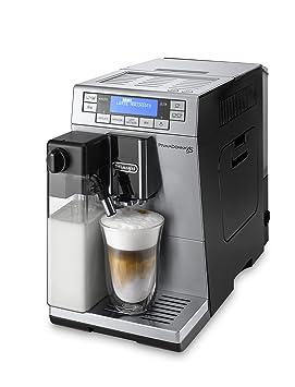 DeLonghi Primadonna XS Independiente Totalmente automática Máquina espresso 1.3L 2tazas Negro, Acero inoxidable -