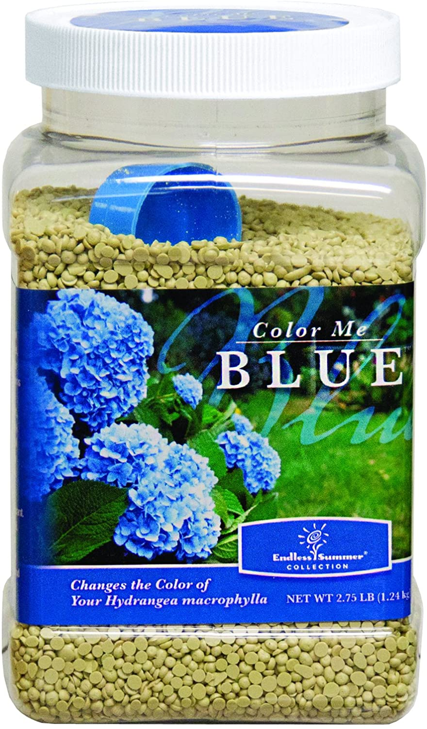 Bonide (BND56428) - Bailey's Color Me Blue Hydrangeas Pellets, Soil Acidifier that Turns Hydrangeas Blue (2.75 lb.)