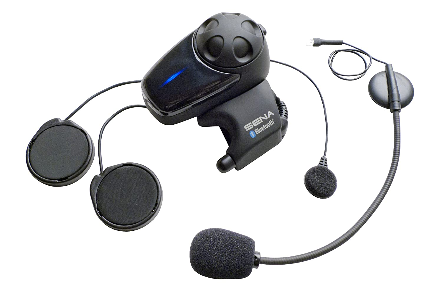 Sena SMH10-11 Motorcycle Bluetooth Headset/Intercom with Universal Microphone Kit Sena Bluetooth