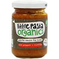 Little Pasta Organic Red Pepper and Ricotta Sauce, 130g