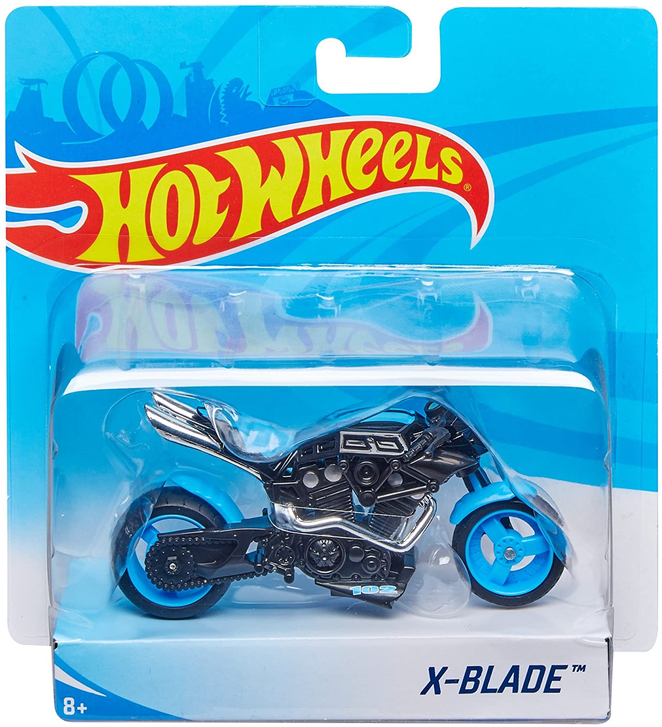 Hot Wheels - Motos Street Power 1/18 Surtido - Motos Juguete - (Mattel X4221)