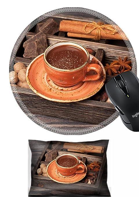 Amazoncom Msd Mouse Wrist Rest And Round Mousepad Set 2pc Wrist