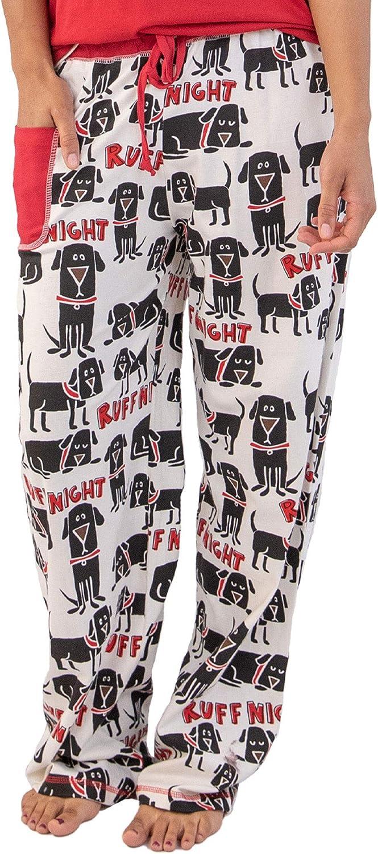 Lazy One Womens Ruff Night PJ Trousers