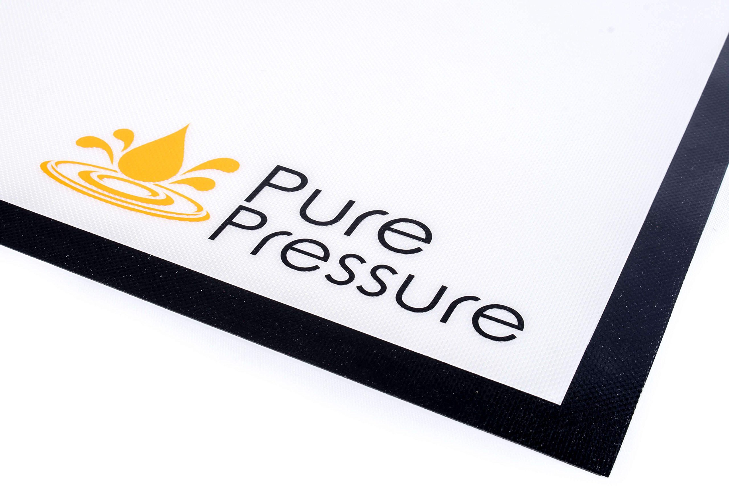 PurePressure Pure Pressure Large XL Silicone Dab Mat Wax Carving Baking Non Stick - Custom Logos and Colors! by PurePressure (Image #2)