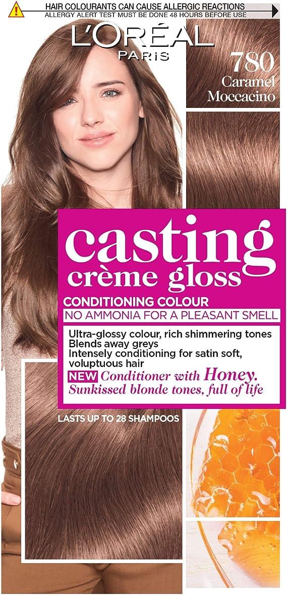 LOreal Gloss Caramel Moccaccino 780 - Tinte semipermanente para el cabello
