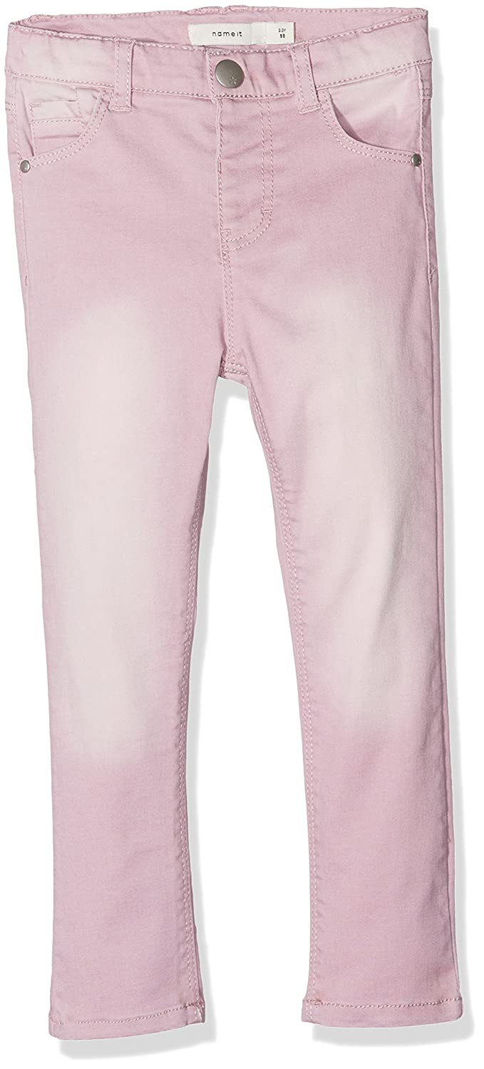 Name It Nmfpolly Twiagira Pant Ad, Jeans Bimba Rosa Dawn Pink 104 13150767