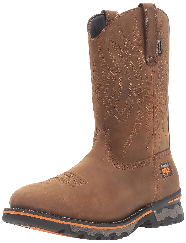 Timberland PRO メンズ B019EHGVSE 9.5 2E US|Brown Distressed Leather Brown Distressed Leather 9.5 2E US
