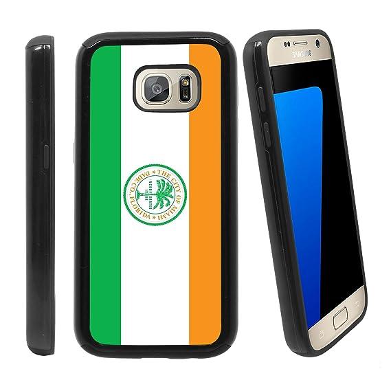 Amazon com: [City Flag of Miami  Florida] for Samsung Galaxy