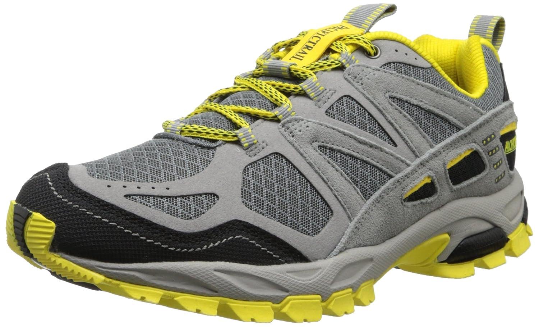 Pacific Trail Men's Tioga M Walking Shoe 10.5 D(M) US|Light Grey/Black/Yellow