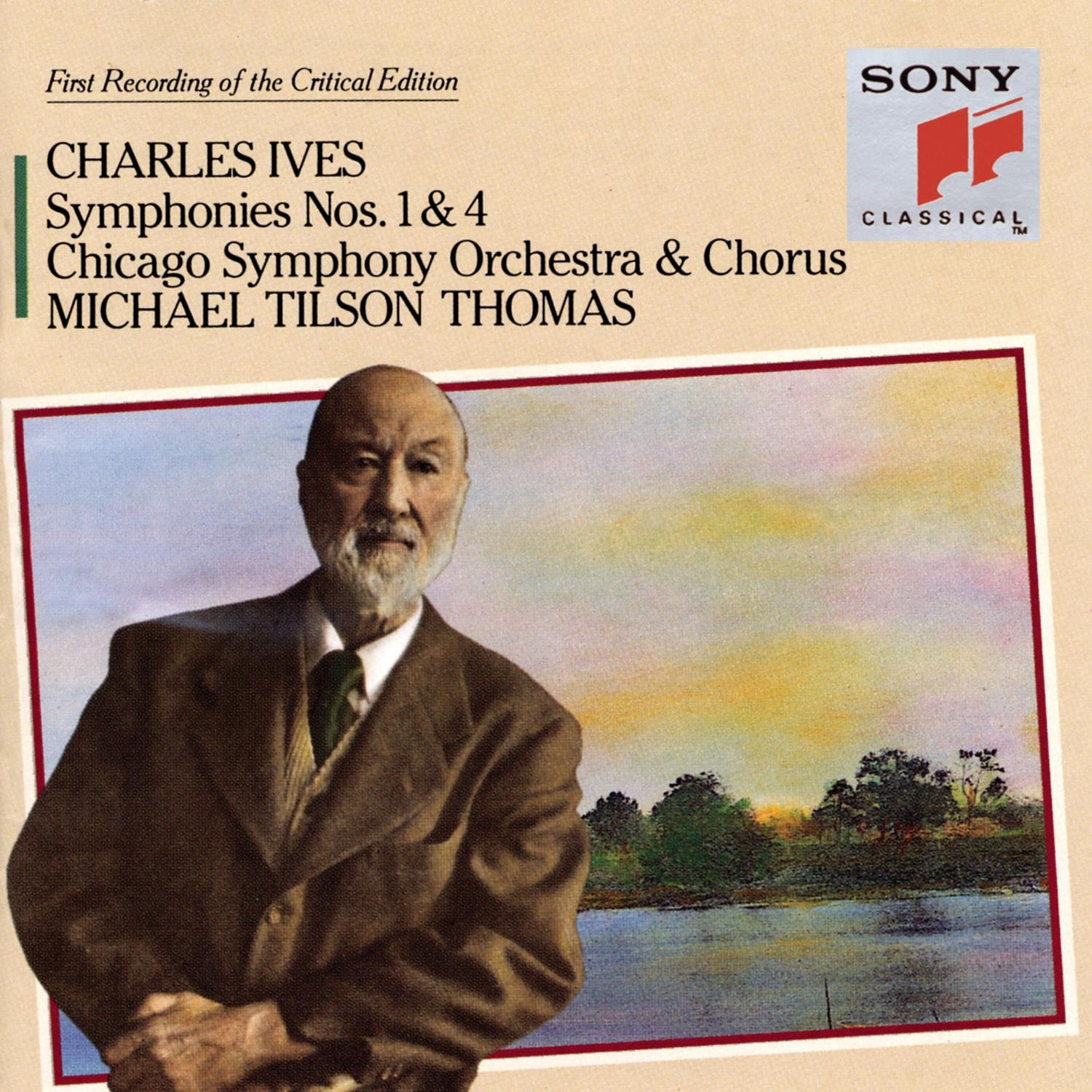 Charles Ives: Symphonies Nos. 1 & 4 / Hymns by Sony Classical