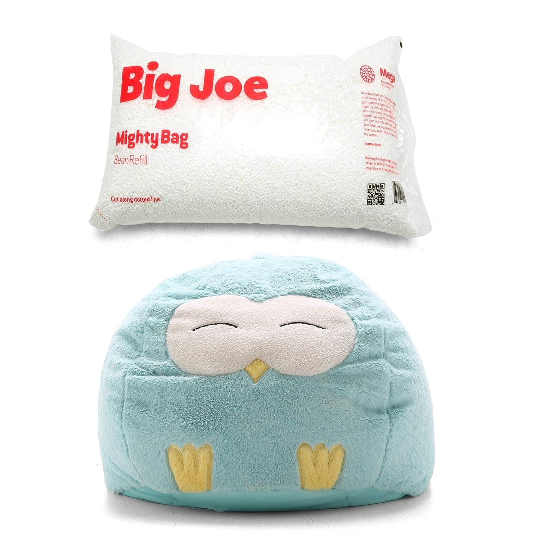 Amazon.com: Big Joe - Puf con forma de búho, con relleno de ...
