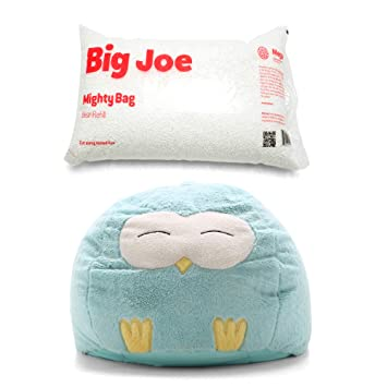 Amazon.com: Big Joe - Puf con forma de búho, con relleno de ...