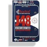 Radial J48 MK2 48V Phantom Power Active Direct Box