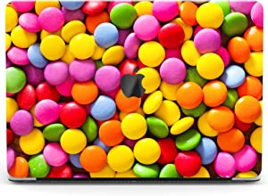 Wonder Wild Case Compatible for MacBook Air 13 inch Pro 15 2019 2018 Retina 12 11 Apple Hard Mac Protective Cover 2017 16 2020 Plastic Laptop Print Colorful Candy Cute Chocolate Rainbow Pink Pattern