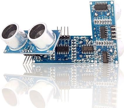5PCS Modulo sensore ultrasonico HC-SR04 Supporto per staffa Raspberry Pi ArduYLO