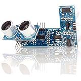 Aukru 3x ultrasuoni HC-SR04 Sensore modulo di prossimità (distanza) per Raspberry Pi Arduino