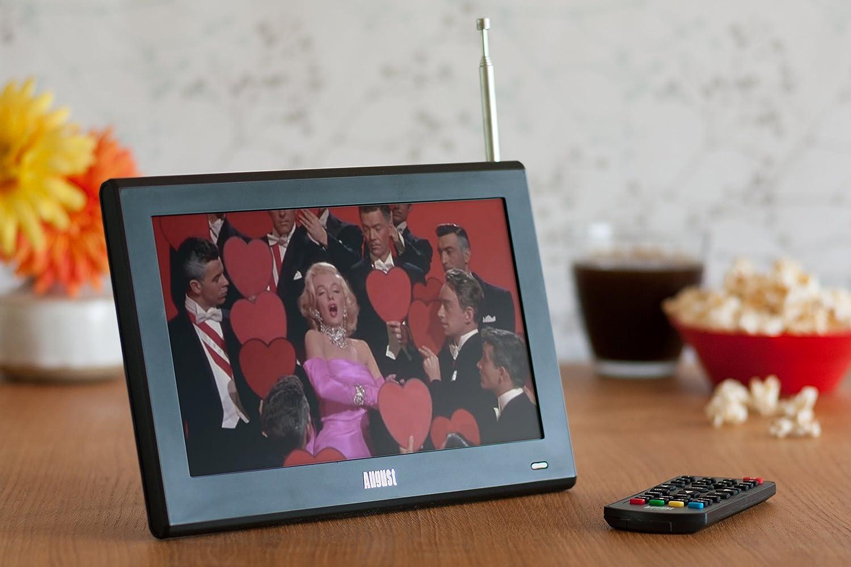 august da100d 10 tragbarer dvb t2 digital fernseher. Black Bedroom Furniture Sets. Home Design Ideas