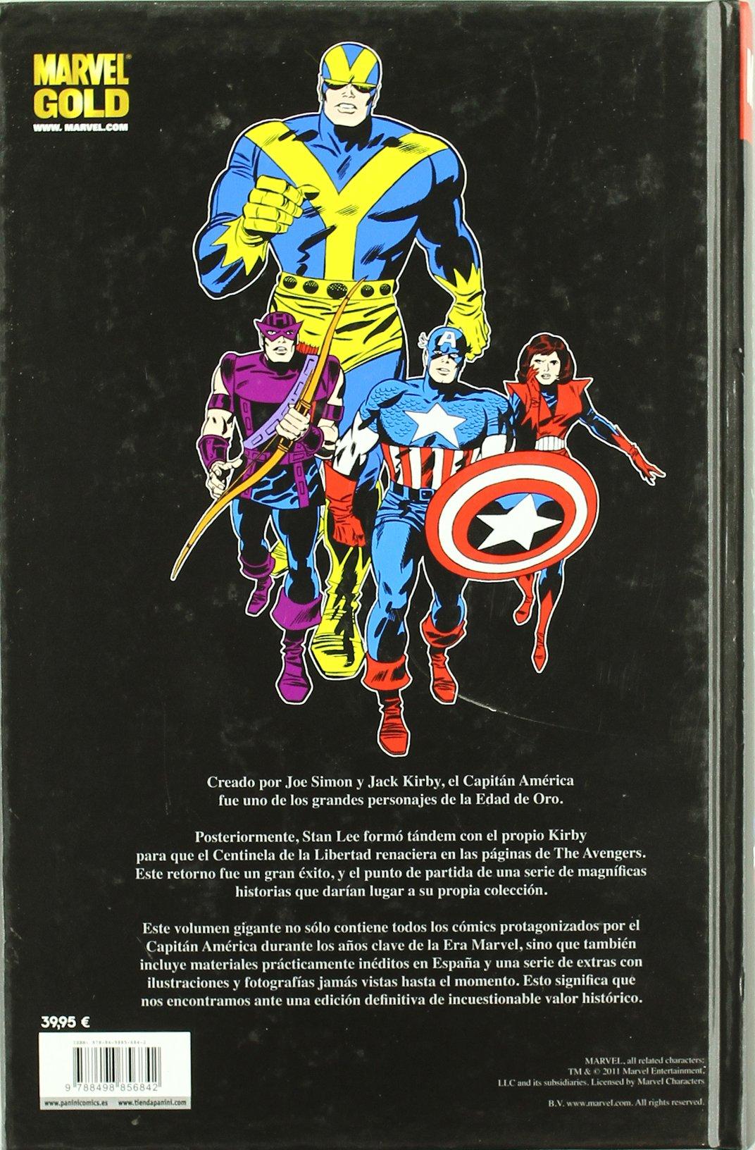 Capitán América. ¡La Leyenda Viviente!: Amazon.es: Stan Lee, Jack ...