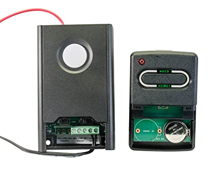 North Shore Commercial Door NSCD RX433RC1 One Channel Rolling Code Gate Or  Garage Door Receiver