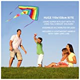 Huge Rainbow Kite For Children, Kids, Girls, Boys & Toddlers