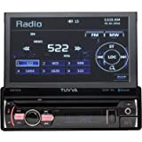 TUVVA KSD7875 In-Dash ricevitore multimediale, 7-pollici - Bluetooth/ USB/ SD/ CD/ DVD/ AUX/ Rear Camera/ Remote Control/ **No RDS