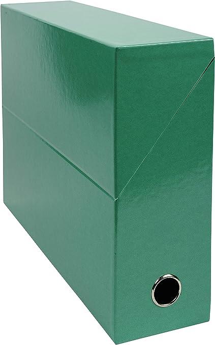 Exacompta Transfer Caja iderama cartón con papel impreso con ...