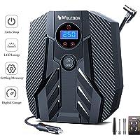 $34 » WOLFBOX Portable Air Compressor Digital Car Tire Inflator Auto Mini Car Air Pump, 150PSI DC 12V…