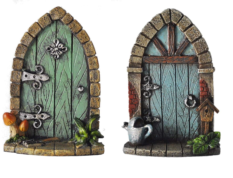 Tree Garden Home Decor Fairy Door Elf Both Fiesta Studios Miniature Pixie Fun Quirky Gift Figurine H9cm