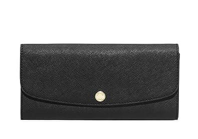 5a2815365b54 MICHAEL Michael Kors Women s Juliana Saffiano Leather Large Flap Wallet
