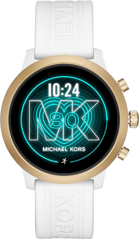 Michael Kors Access MKGO Touchscreen Aluminum and Silicone Smartwatch, White-MKT5071: Amazon.es: Electrónica