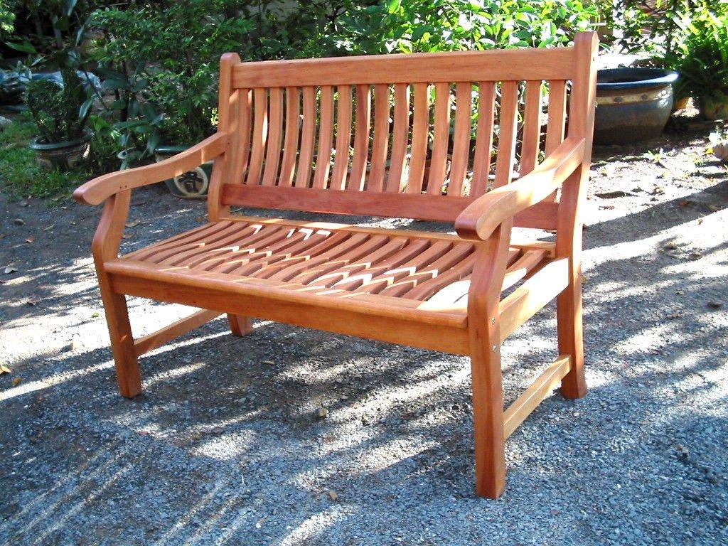 New Jersey Gartenbank 2-Sitzer aus Akazie