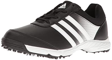 Mens ADIDAS CLIMACOOL Black Leather Golf Shoes Size 11.5 US