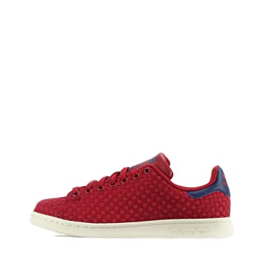 ADIDAS ORIGINALS STAN SMITH tissé Chaussures Homme rouge