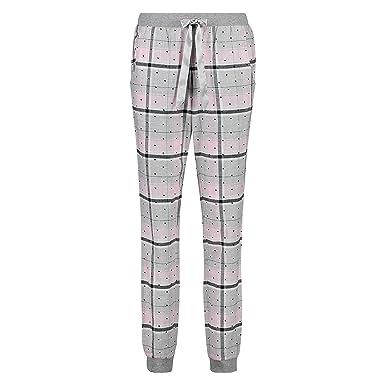 b499520f270818 Hunkemöller Damen Pyjamahose Check