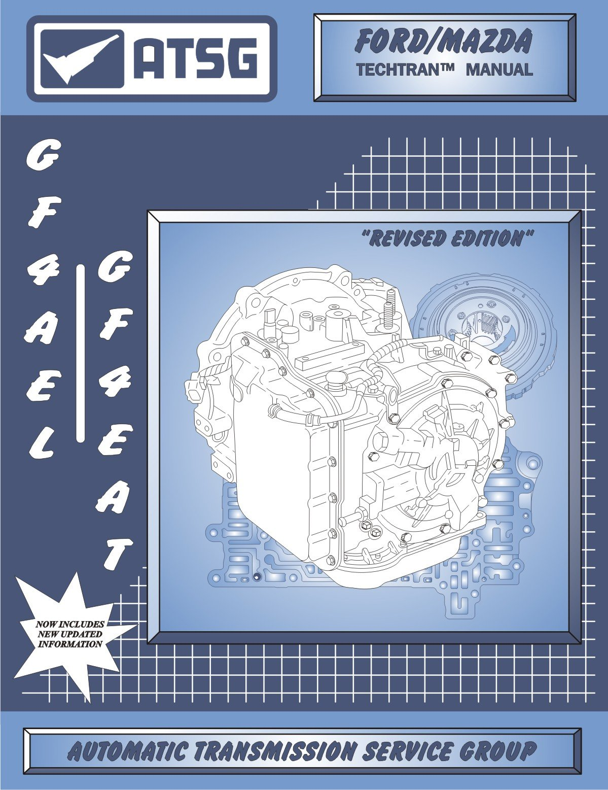 ATSG Mazda GF4AEL GF4EAT Techtran Transmission Rebuild Manual (1993-1994): Automatic  Transmission Service Group: Amazon.com: Books