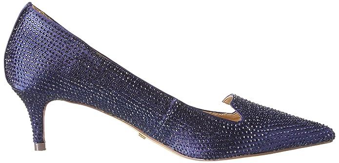 Rk 1602-030-A Satin, Escarpins Femme, Bleu (Navy), 37 EUBuffalo