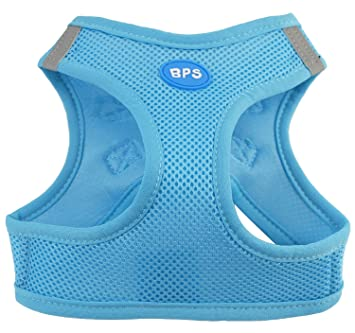BPS® Arnés para Perros Mascotas Callar para Perros Mascotas 5 Tamaños para Elegir para Perro pequeño mediano y grande (Azul, S) BPS-3858A: Amazon.es: ...