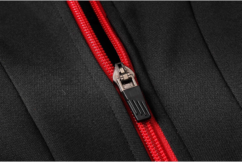 Outdoor Sports Mens Long-Drawn Sportswear S-XXL Long-Sleeved Sportswear Training Suit Set XJK 19-20 Liverpool Football Training Suit