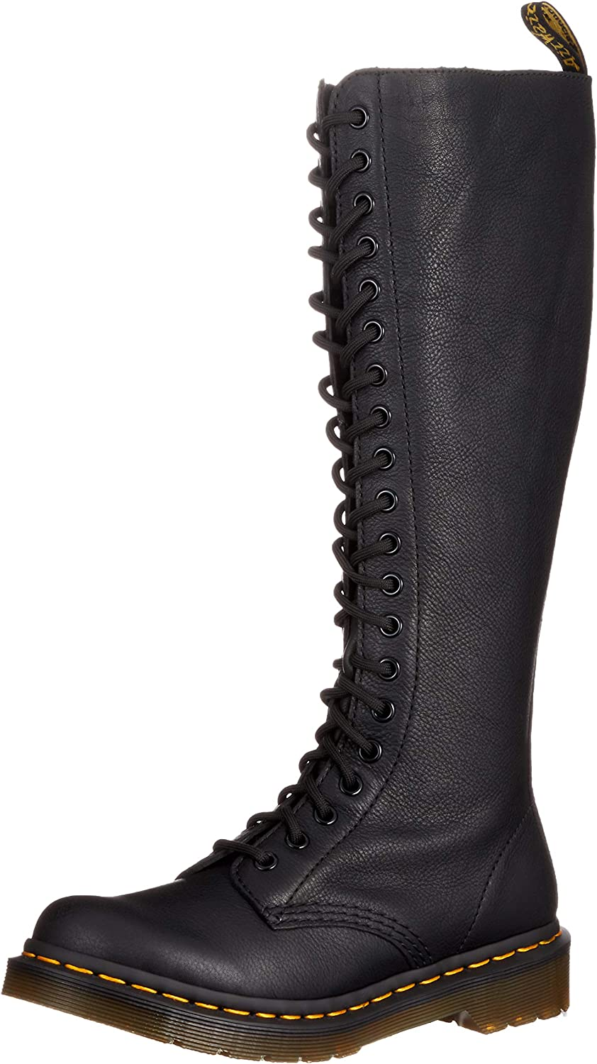 DR MARTENS 1B99 VIRGINIA LEATHER KNEE HIGH BOOTS | Boots
