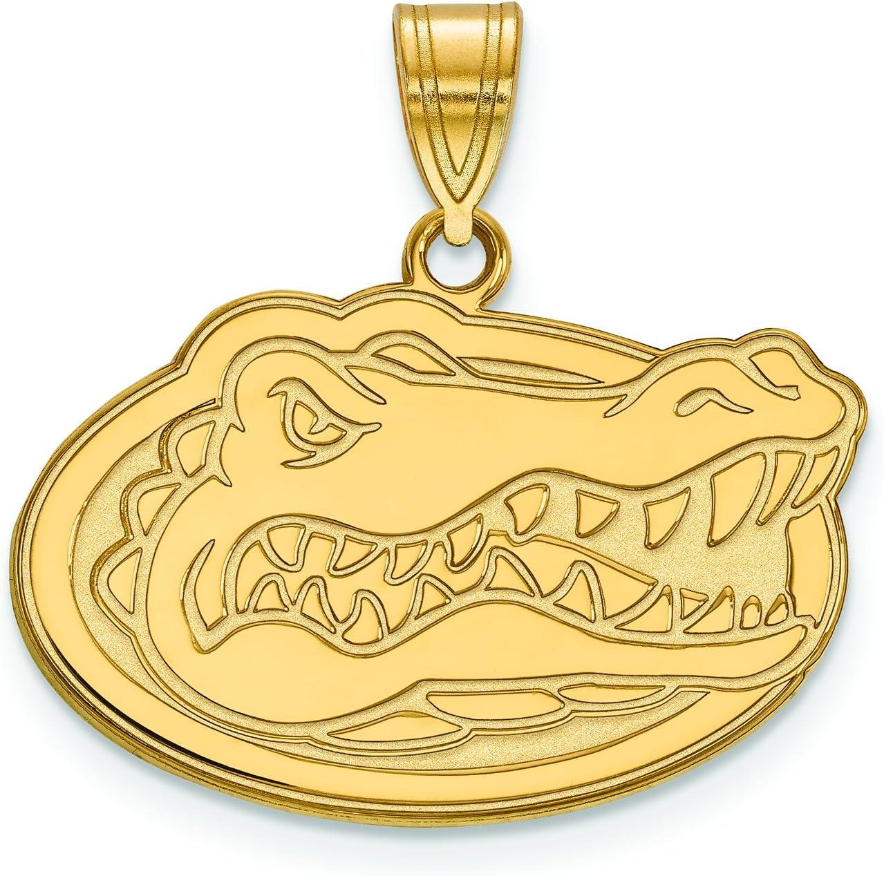 Florida Gators Gator Head Pendant