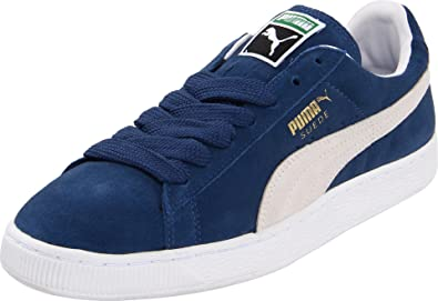 PUMA Suede Classic Sneaker,Ensign Blue/White,11 M US Women's/9.5